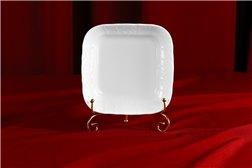 Салатник Квадратный 16 см 1 штука Бернадотт Белая Посуда Чехия