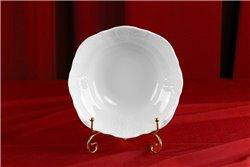 Салатник Круглый 23 см 1 штука Бернадотт Белая Посуда Чехия