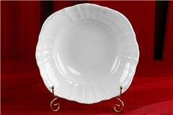 Салатник Круглый 25 см 1 штука Бернадотт Белая Посуда Чехия