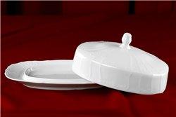 Масленка 250 мг 2 предмета Бернадотт Белая Посуда Чехия