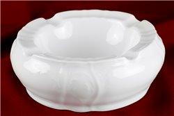 Пепельница 13 см 1 штука Бернадотт Белая Посуда Чехия