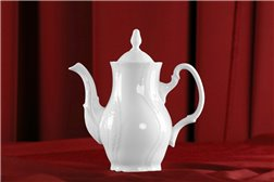 Кофейник 700 мл 2 предмета Бернадотт Белая Посуда Чехия