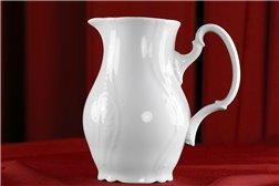 Кувшин 1 литр 1 штука Бернадотт Белая Посуда Чехия