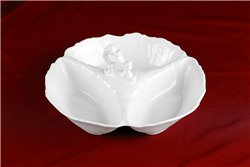 Менажница 24 см 1 штука Бернадотт Белая Посуда Чехия