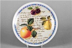 Тарелка Настенная 21 см Спелые Фрукты 1 штука Чехия