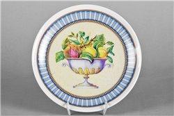 Тарелка Настенная 21 см Фрукты в Вазе 1 штука Чехия