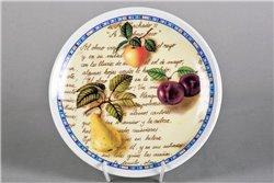Тарелка Настенная 21 см Наливные Фрукты 1 штука Чехия