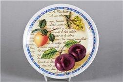 Тарелка Настенная 21 см Сочные Фрукты 1 штука Чехия