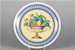 Тарелка Настенная 21 см Персики в Вазе 1 штука Чехия